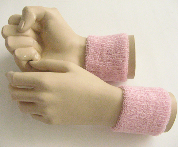 Cheap Wristband Light Pink Wholesale for Event & Promotion 6pair
