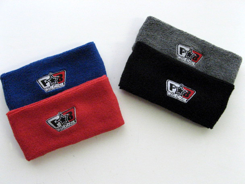 Custom Logo Embroidered Wide Headbands Sample