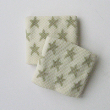 Cute Wristbands White Stars Pattern for Girl and Children [2pairs]
