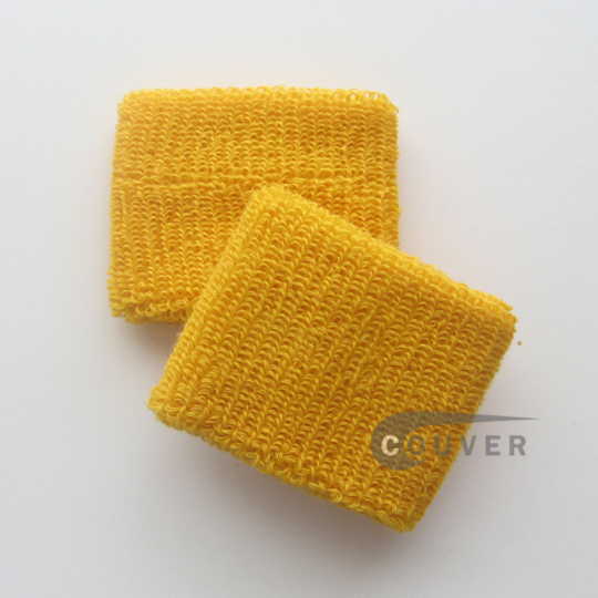 Golden Yellow Youth Wristbands Wholesale for Church and School