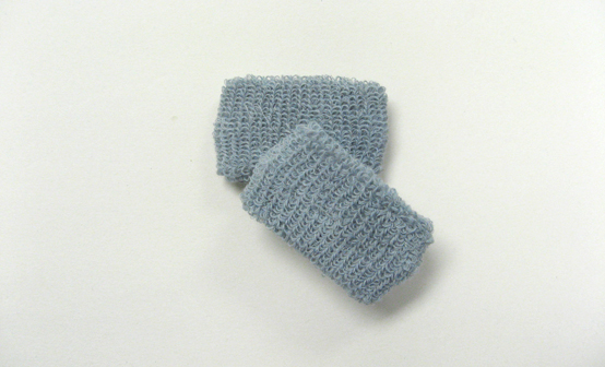 Gray grey kids childrens cheap terry wristbands wholesale