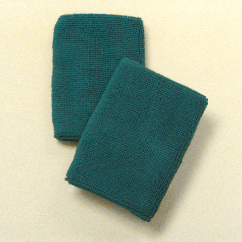 Teal Mens 4IN Wrist Sweatband (Sport Wristband) Wholesale 6PAIRS