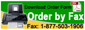 Order by Fax - Couver Sweatbands & Socks
